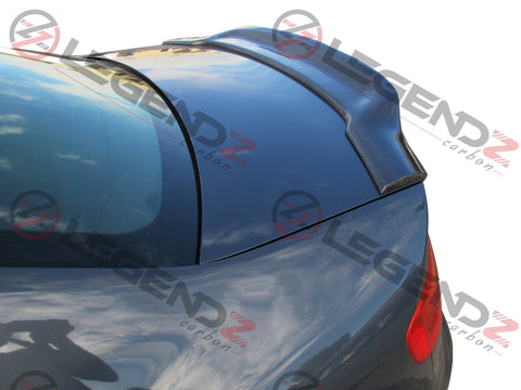 Carbon Fiber Rear Trunk Spoiler for 2009-2012 Audi S4 B8 Sedan Type E