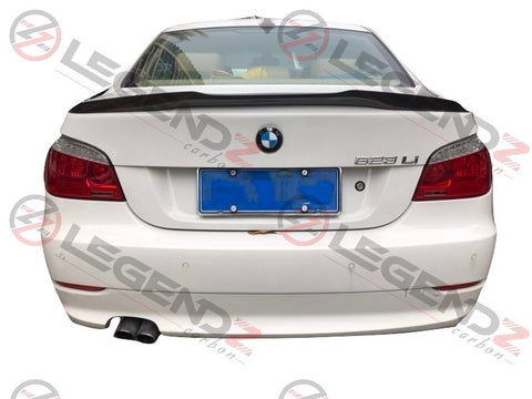 Carbon Fiber Rear Trunk Spoiler for 2004-2010 BMW 5 Series Sedan E60 Type A