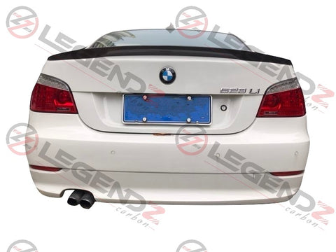 Carbon Fiber Rear Trunk Spoiler for 2004-2010 BMW 5 Series Sedan E60 Type B