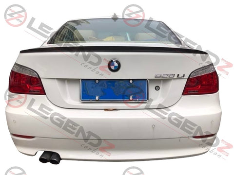 Carbon Fiber Rear Trunk Spoiler for 2004-2010 BMW 5 Series Sedan E60 Type C
