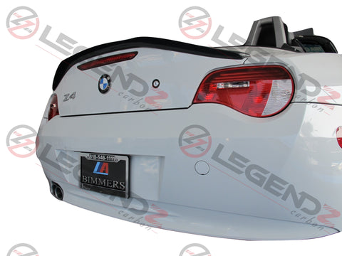 Carbon Fiber Rear Trunk Spoiler for 2003-2008 BMW Z Series Z4 E85 Convertible Type A