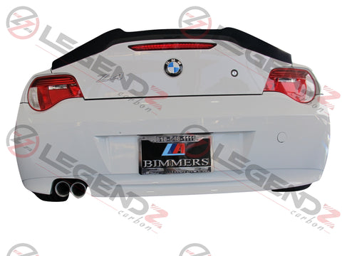 Carbon Fiber Rear Trunk Spoiler for 2003-2008 BMW Z Series Z4 E85 Convertible Type E