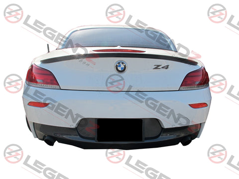 Carbon Fiber Rear Trunk Spoiler for 2009-2016 BMW Z Series Z4 E89 Convertible Type B
