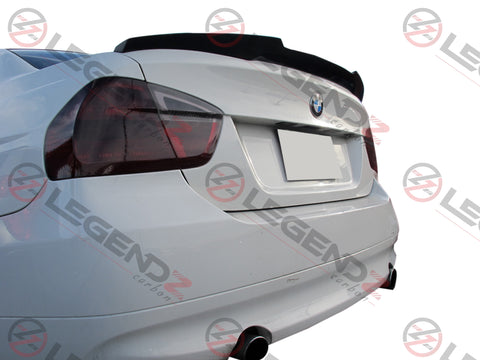 Carbon Fiber Rear Trunk Spoiler for 2005-2011 BMW M3 Sedan E90 Type E