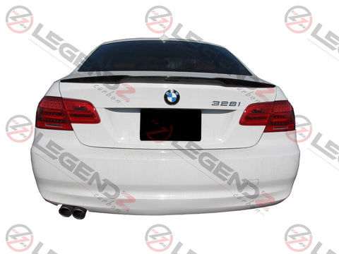 Carbon Fiber Rear Trunk Spoiler for 2007-2013 BMW 3 Series Coupe E92 Type A