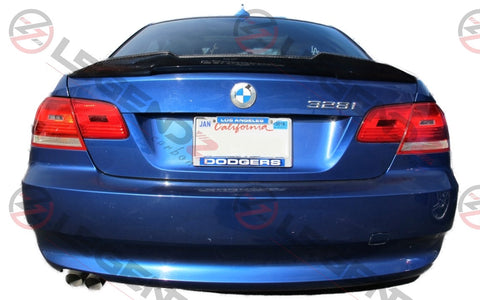 Carbon Fiber Rear Trunk Spoiler for 2007-2013 BMW M3 Coupe E92 Type D