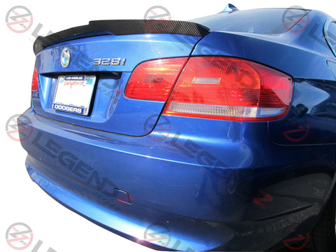 Carbon Fiber Rear Trunk Spoiler for 2007-2013 BMW M3 Coupe E92 Type E
