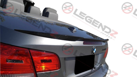 Carbon Fiber Rear Trunk Spoiler for 2007-2013 BMW 3 Series Convertible E93 Type A