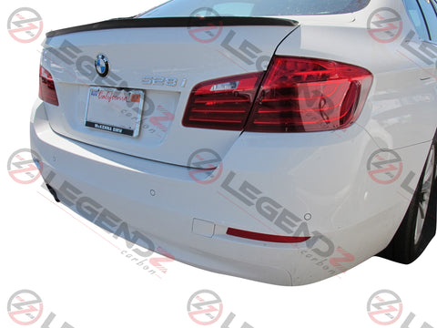 Carbon Fiber Rear Trunk Spoiler for 2011-2016 BMW 5 Series Sedan F10 / F18 Type C