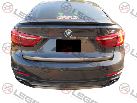 Carbon Fiber Rear Trunk Spoiler for 2015-2018 BMW X Series X6 F16 Type B