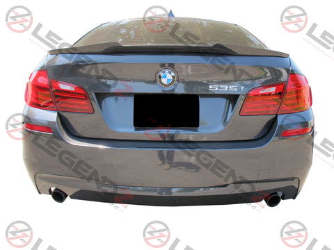 Carbon Fiber Rear Trunk Spoiler for 2011-2016 BMW 5 Series Sedan F10 / F18 Type E