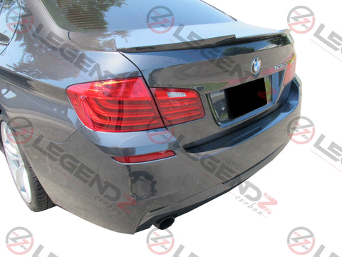 Carbon Fiber Rear Trunk Spoiler for 2011-2016 BMW M5 Sedan F10 Type E