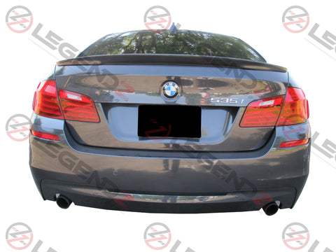 Carbon Fiber Rear Trunk Spoiler for 2011-2016 BMW 5 Series Sedan F10 / F18 Type B