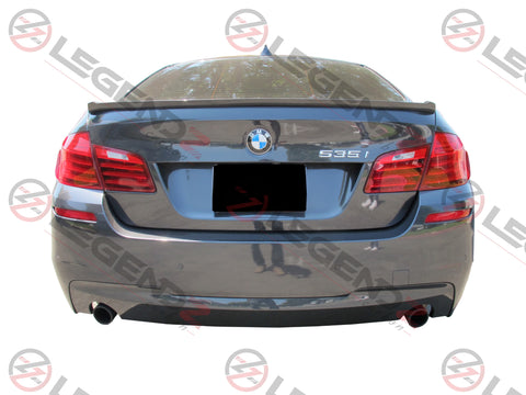 Carbon Fiber Rear Trunk Spoiler for 2011-2016 BMW 5 Series Sedan F10 / F18 Type G