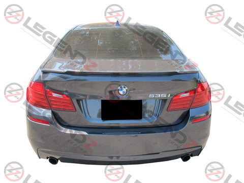 Carbon Fiber Rear Trunk Spoiler for 2011-2016 BMW 5 Series Sedan F10 / F18 Type F