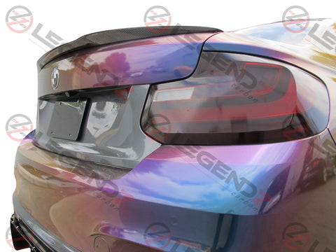 Carbon Fiber Rear Trunk Spoiler for 2014-2018 BMW 2 Series Convertible F23 Type A