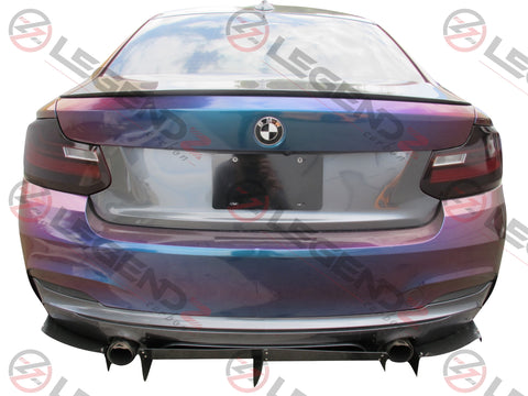Carbon Fiber Rear Trunk Spoiler for 2014-2018 BMW 2 Series Coupe F22 Type C