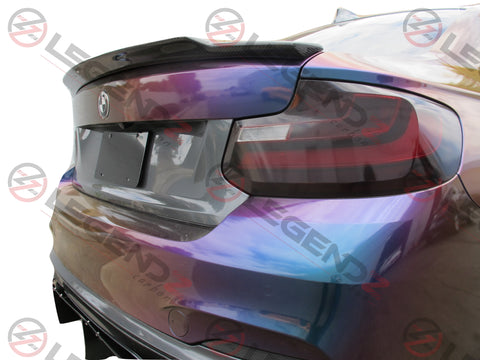 Carbon Fiber Rear Trunk Spoiler for 2014-2018 BMW 2 Series Convertible F23 Type F