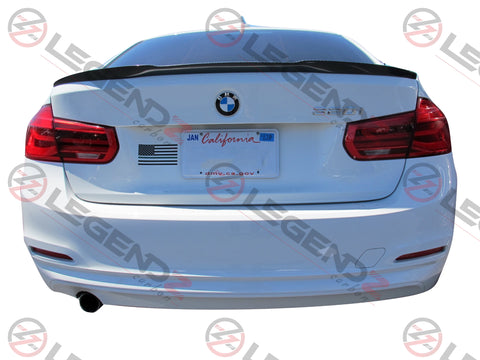 Carbon Fiber Rear Trunk Spoiler for 2012-2018 BMW 3 Series Sedan F30 / F35 Type A