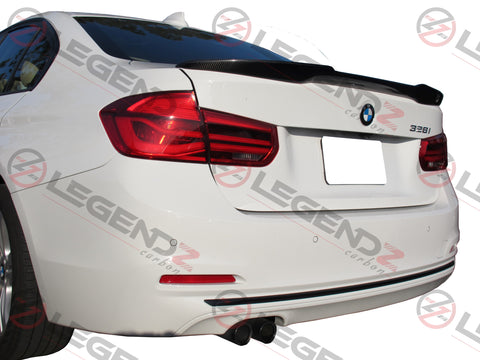 Carbon Fiber Rear Trunk Spoiler for 2012-2018 BMW 3 Series Sedan F30 / F35 Type E