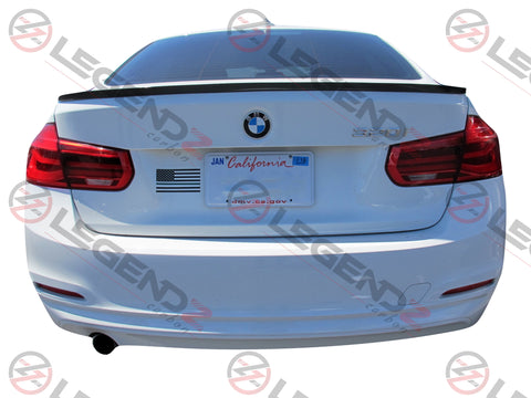 Carbon Fiber Rear Trunk Spoiler for 2014-2018 BMW M3 Sedan F80 Type C