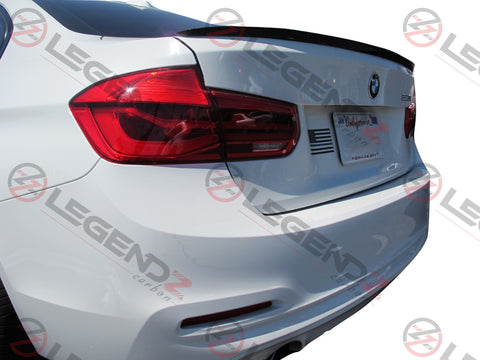 Carbon Fiber Rear Trunk Spoiler for 2012-2018 BMW 3 Series Sedan F30 / F35 Type C