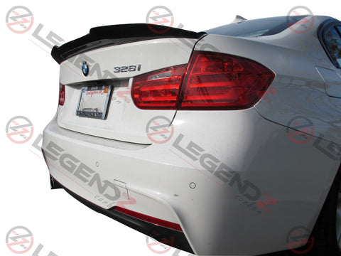 Carbon Fiber Rear Trunk Spoiler for 2014-2018 BMW M3 Sedan F80 Type D