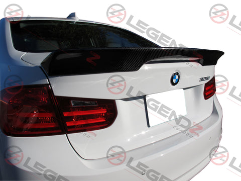 Carbon Fiber Rear Trunk Spoiler for 2012-2018 BMW 3 Series Sedan F30 / F35 Type G