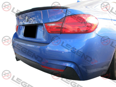 Carbon Fiber Rear Trunk Spoiler for 2014-2019 BMW 4 Series Coupe F32 Type A