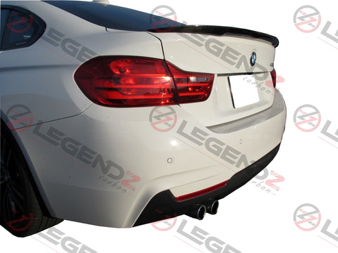 Carbon Fiber Rear Trunk Spoiler for 2014-2018 BMW 4 Series Gran Coupe F36 Type B