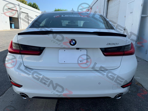 2019-2020 BMW G20 3 Series Carbon Fiber Spoiler Legendz Carbon