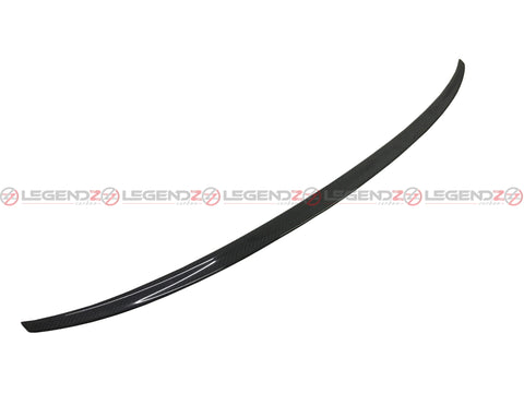 Carbon Fiber Rear Trunk Spoiler for 2008-2012 Audi A5 B8 Convertible Type F