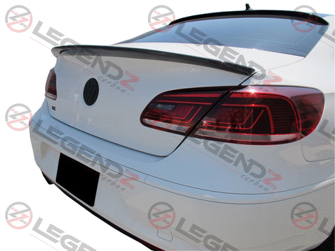 Carbon Fiber Rear Trunk Spoiler for 2008-2017 Volkswagen CC Sedan Type B