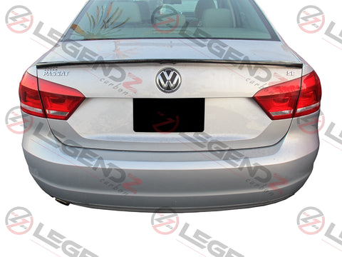 Carbon Fiber Rear Trunk Spoiler for 2012-2018 Volkswagen Passat Sedan Type C