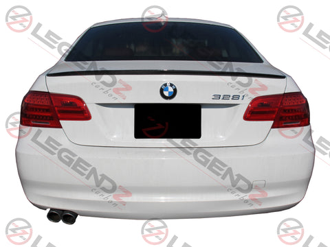 Carbon Fiber Rear Trunk Spoiler for 2007-2013 BMW M3 Coupe E92 Type C