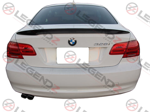 Carbon Fiber Rear Trunk Spoiler for 2007-2013 BMW M3 Coupe E92 Type B