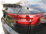 Carbon Fiber Rear Trunk Spoiler for 2017-2018 Audi S4 B9 Sedan Type F
