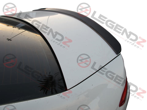 Carbon Fiber Rear Trunk Spoiler for 2008-2014 Mercedes Benz C-Class W204 Sedan Type A