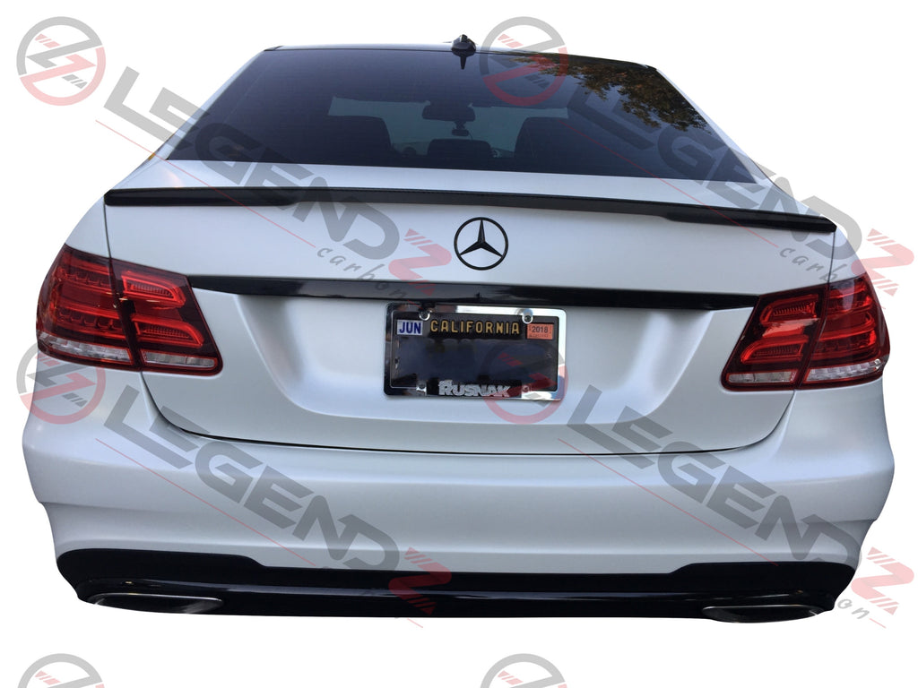 for Mercedes Benz W212 Rear Roof Trunk Wing Spoiler 2010 2016