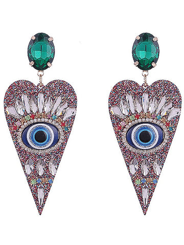 I've Got My Eye on You Earrings - Multicolour - Nous Wanderlust Stories