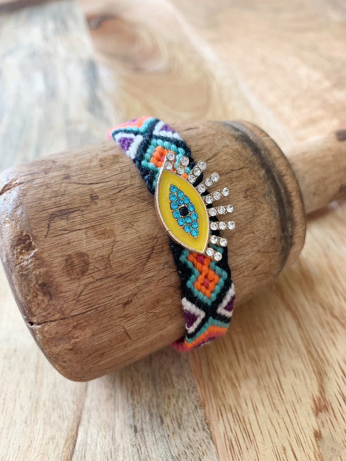 Kaleidoscope Bracelet - Yellow - Nous Wanderlust Stories