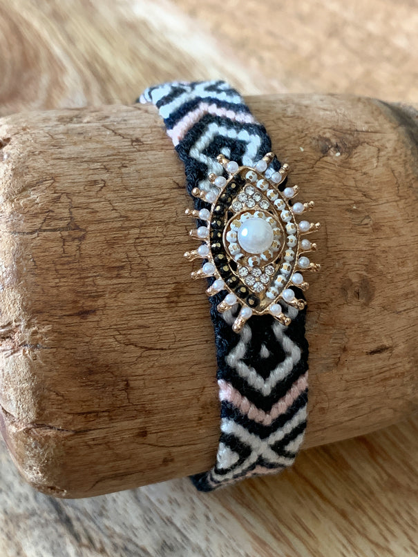 Kaleidoscope Bracelet - Black - Nous Wanderlust Stories