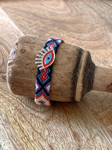 Kaleidoscope Bracelet - Red - Nous Wanderlust Stories