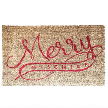 'Merry Mischief' Door Mat - Nous Wanderlust Stories