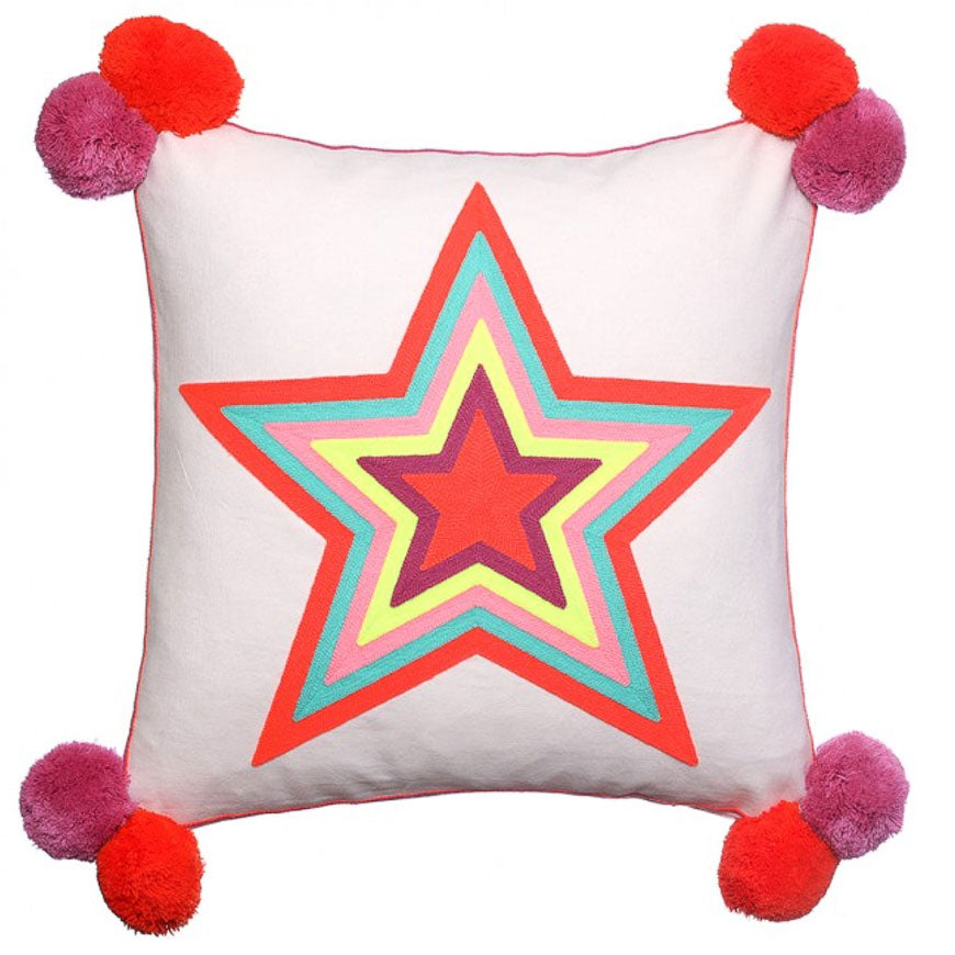 'What a Star' Cushion - Nous Wanderlust Stories