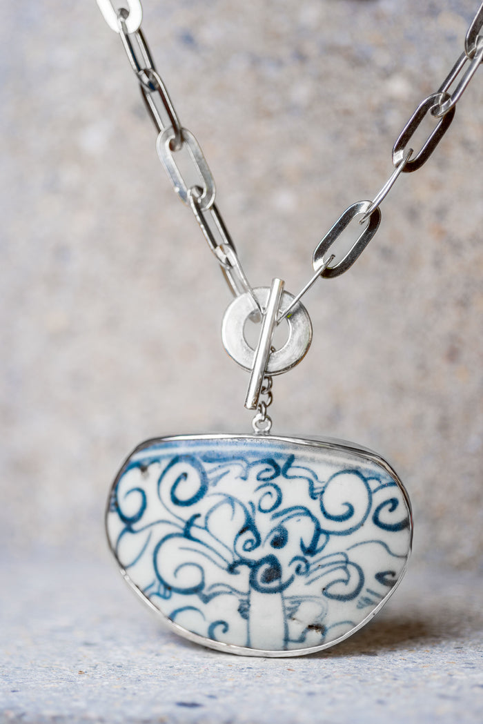 Trieu Ceramic Necklace - Nous Wanderlust Stories