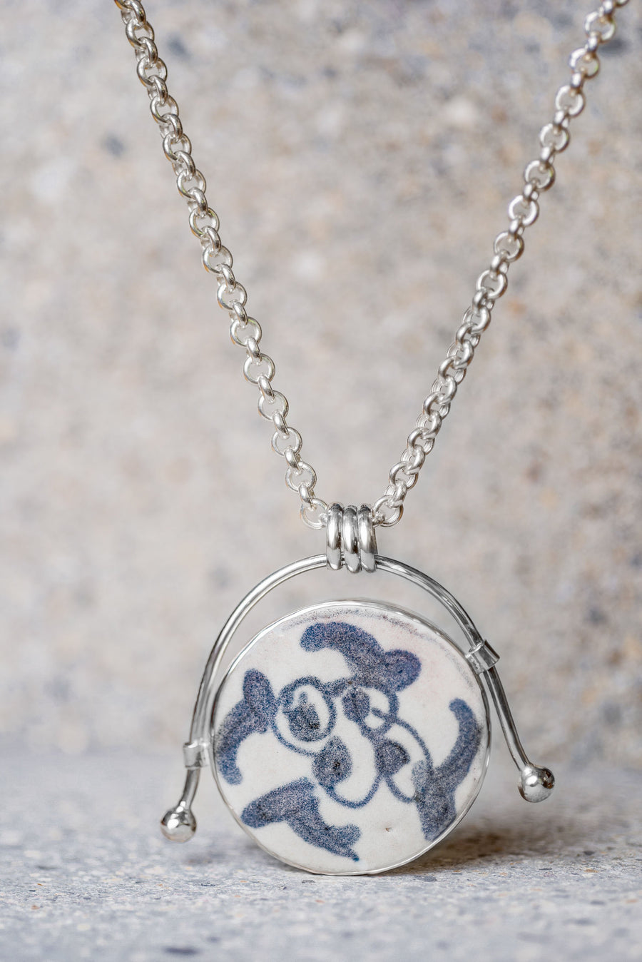 Lộn Xộn Ceramic Necklace - Nous Wanderlust Stories