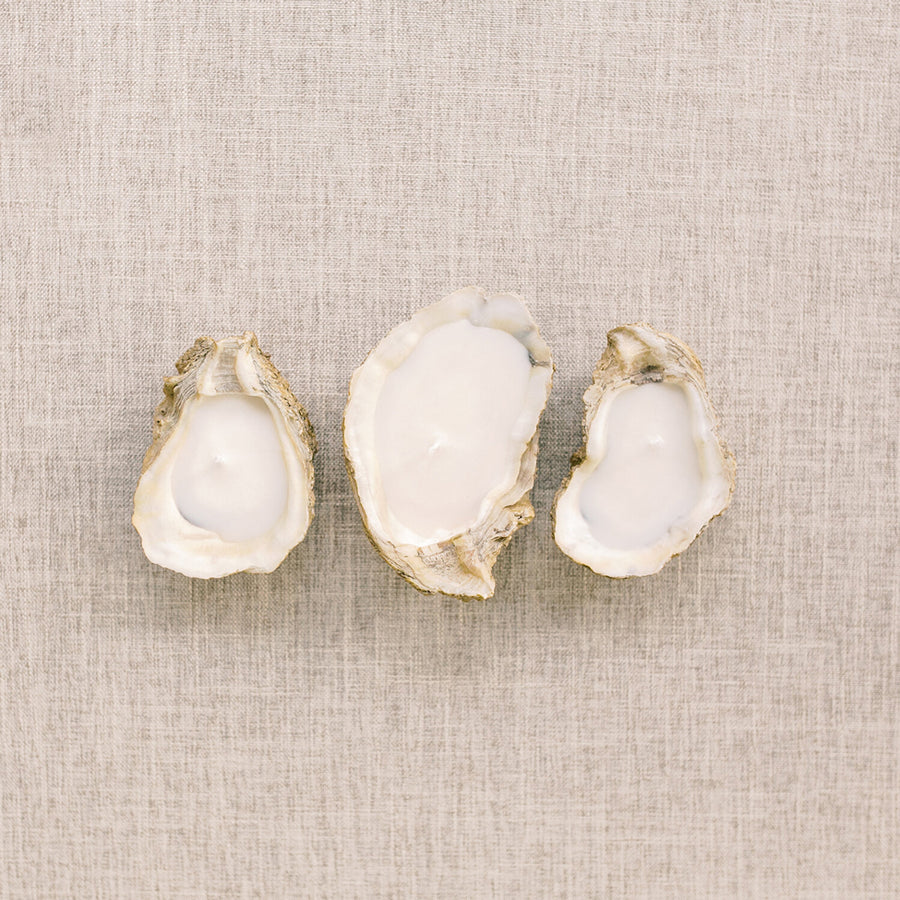 Oyster Shell Candle - Lavender - Nous Wanderlust Stories