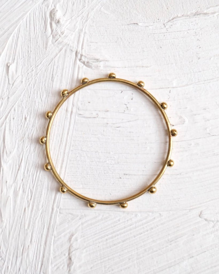 Hebba Thin Bangle - Nous Wanderlust Stories
