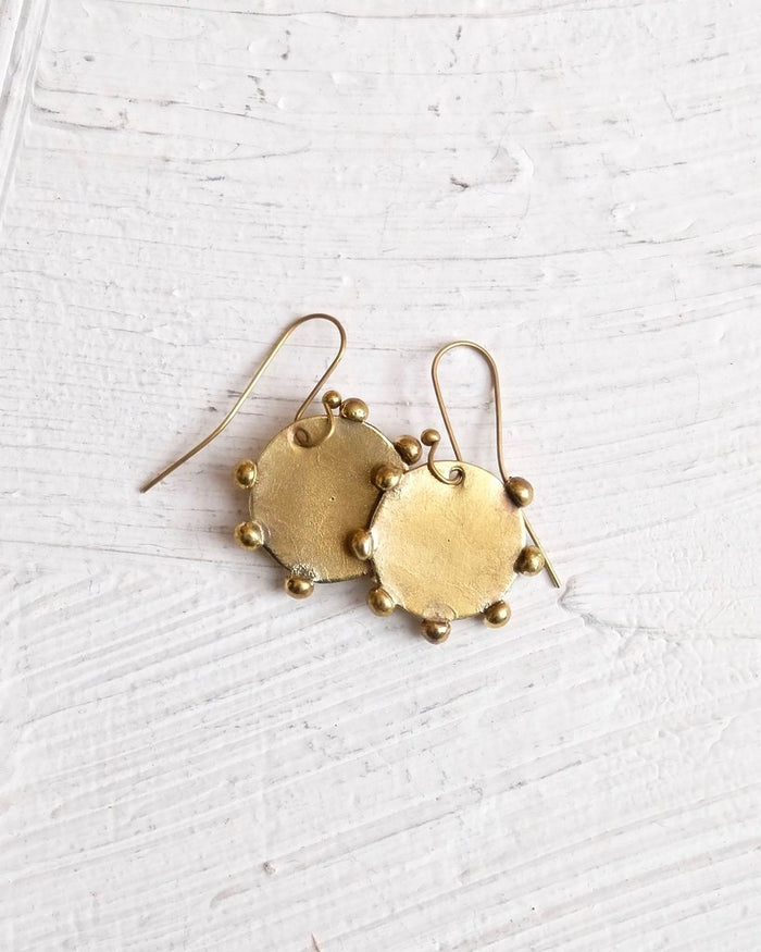 Hebba Disc Earrings - Nous Wanderlust Stories